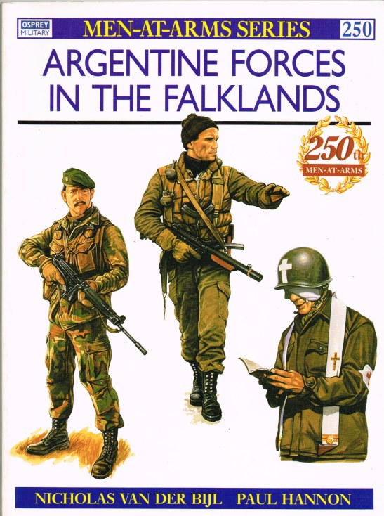 Image for ARGENTINE FORCES IN THE FALKLANDS