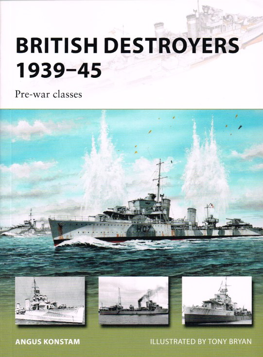 Image for BRITISH DESTROYERS 1939-45 PRE-WAR CLASSES