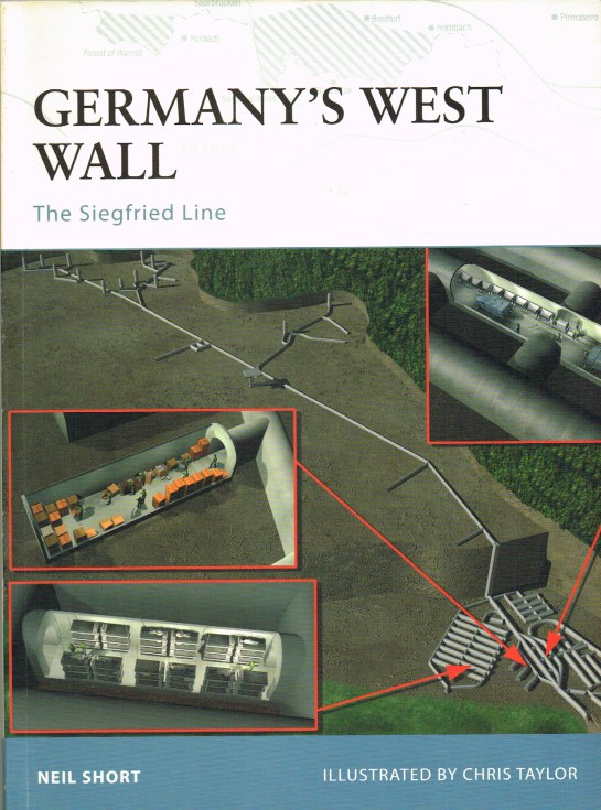 Image for GERMANY'S WEST WALL : THE SIEGFRIED LINE