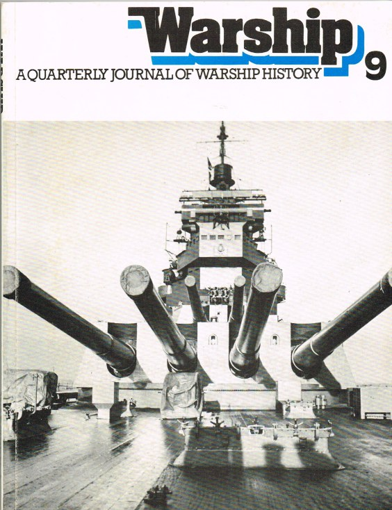 Image for WARSHIP NUMBER 9 JANUARY 1979 : A QUARTERLY JOURNAL OF WARSHIP HISTORY