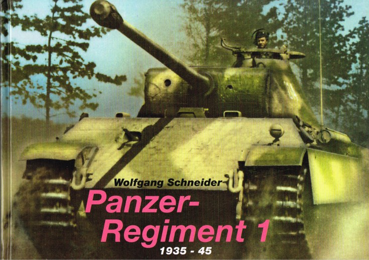 Image for PANZER-REGIMENT 1 1935-45