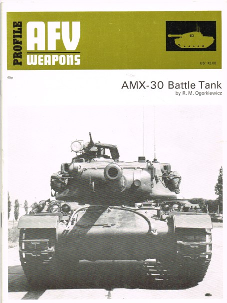 Image for PROFILE AFV 63: AMX-30 BATTLE TANK