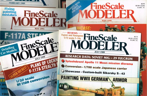 Image for FINE SCALE MODELER (BACK ISSUES IN STOCK)