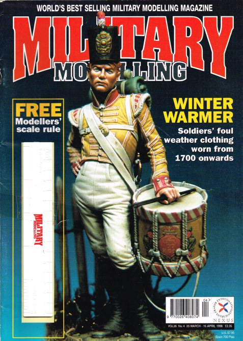 Image for MILITARY MODELLING VOL.28, NO.4 1998