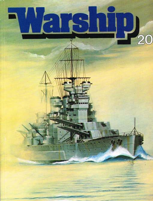 Image for WARSHIP NUMBER 20 OCTOBER 1981 : A QUARTERLY JOURNAL OF WARSHIP HISTORY