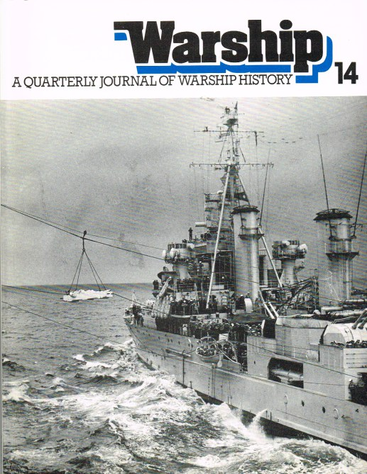 Image for WARSHIP NUMBER 14 APRIL 1980 : A QUARTERLY JOURNAL OF WARSHIP HISTORY