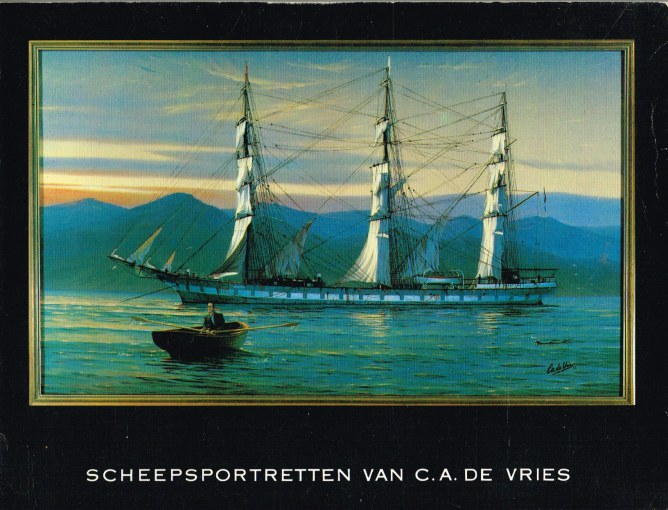 Image for SCHEEPSPORTRETTEN VAN. C.A. DE VRIES (DUTCH TEXT)