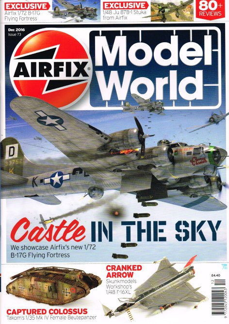 Image for AIRFIX MODEL WORLD ISSUE 73, DECEMBER 2016