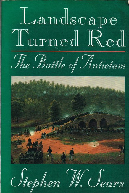 Image for LANDSCAPE TURNED RED: THE BATTLE OF ANTIETAM