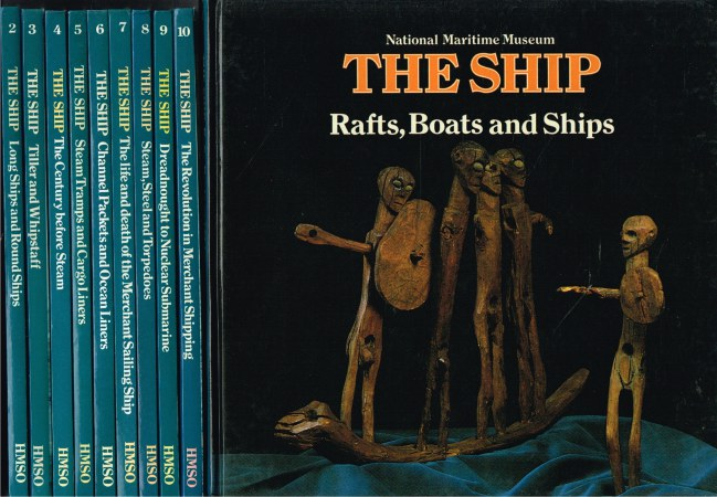 Image for NATIONAL MARITIME MUSEUM : THE SHIP (10 VOLUME SET)