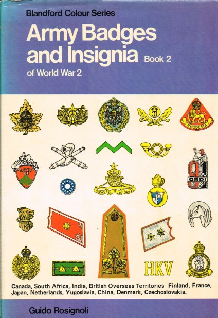 Image for ARMY BADGES AND INSIGNIA OF WORLD WAR TWO: BOOK TWO