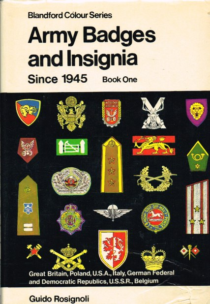 Image for ARMY BADGES AND INSIGNIA SINCE 1945