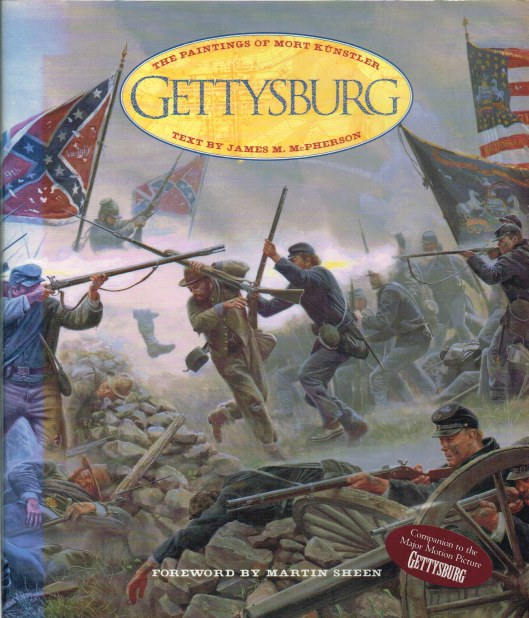 Image for GETTYSBURG: THE PAINTINGS OF MORT KUNSTLER