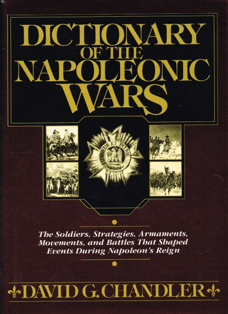 Image for DICTIONARY OF THE NAPOLEONIC WARS