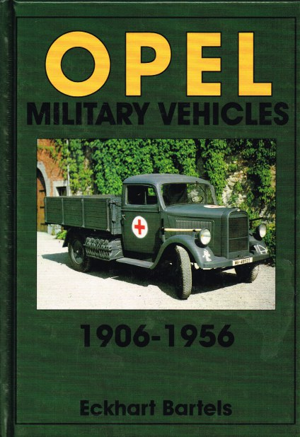 Image for OPEL MILITARY VEHICLES 1906-1956