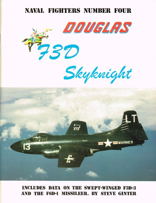 Image for NAVAL FIGHTERS NUMBER FOUR: DOUGLAS 73D SKYKNIGHT