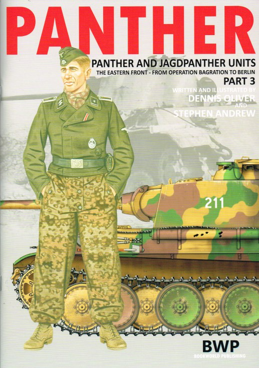 Image for PANTHER: PANTHER AND JAGDPANTHER UNITS: THE EASTERN FRONT - FROM OPERATION BAGRATION TO BERLIN : PART 3