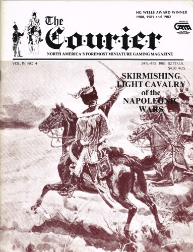 Image for THE COURIER : VOL.IV, NO.4 JAN-FEB 1983