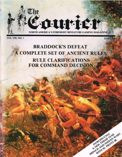 Image for THE COURIER : VOL.VIII, NO.1