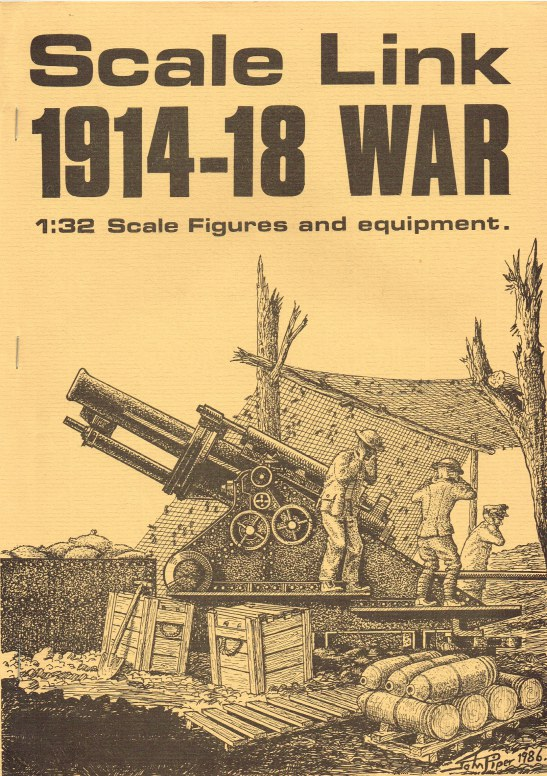 Image for SCALE LINK 1914-18 WAR 1: 32 SCALE FIGURES AND EQUIPMENT