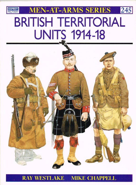 Image for BRITISH TERRITORIAL UNITS 1914-18