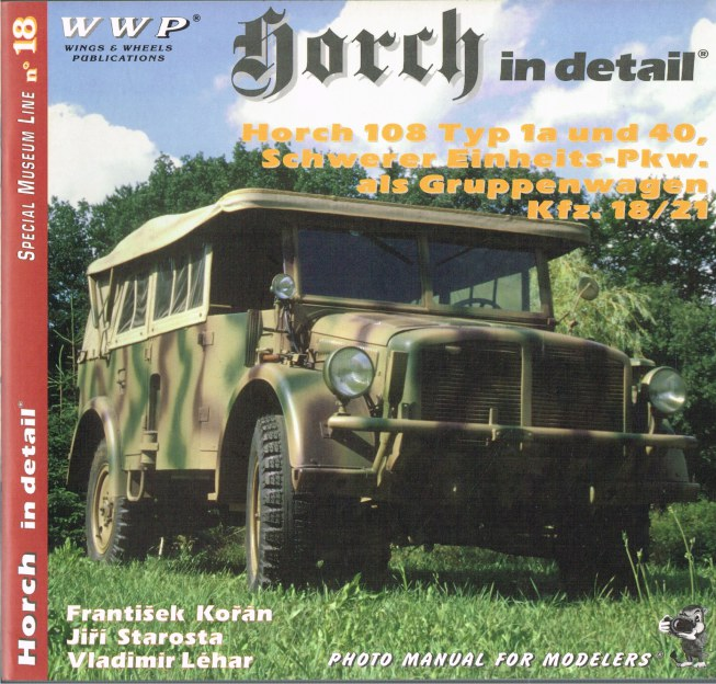 Image for SPECIAL MUSEUM LINE NO.18: HORCH IN DETAIL