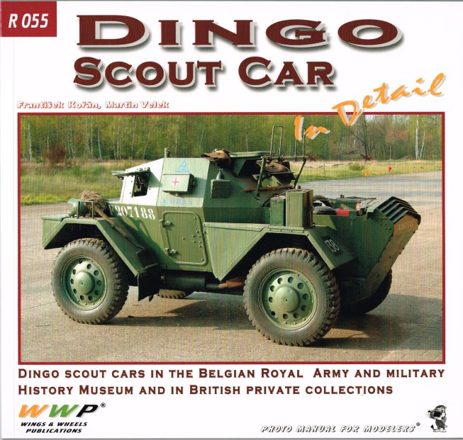 Image for DINGO SCOUT CAR IN DETAIL