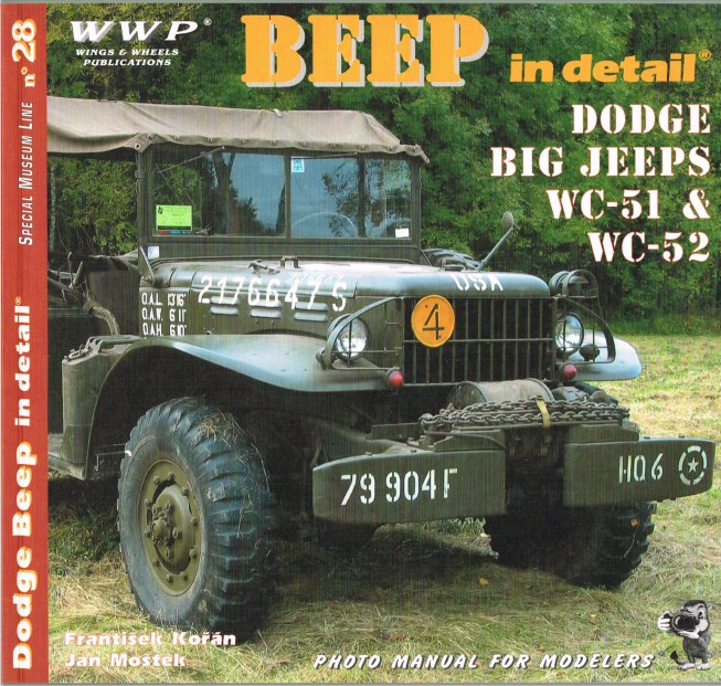 Image for SPECIAL MUSEUM LINE NO.28: BEEP IN DETAIL - DODGE 3/4-TON TRUCKS