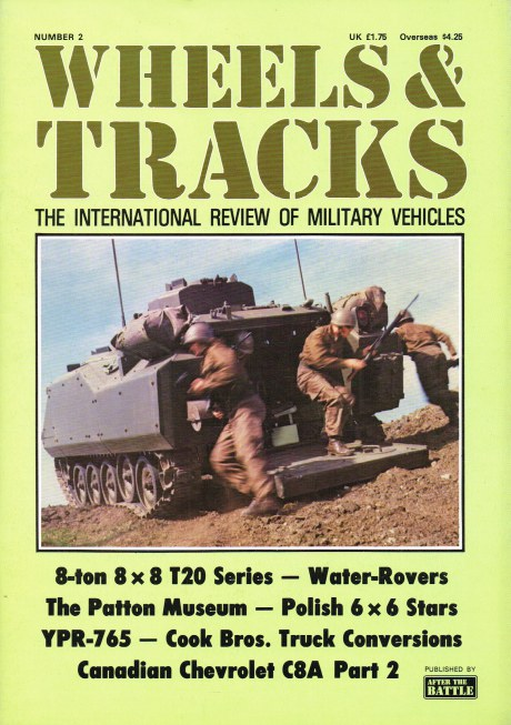 Image for WHEELS & TRACKS: THE INTERNATIONAL REVIEW OF MILITARY VEHICLES: NUMBER 2