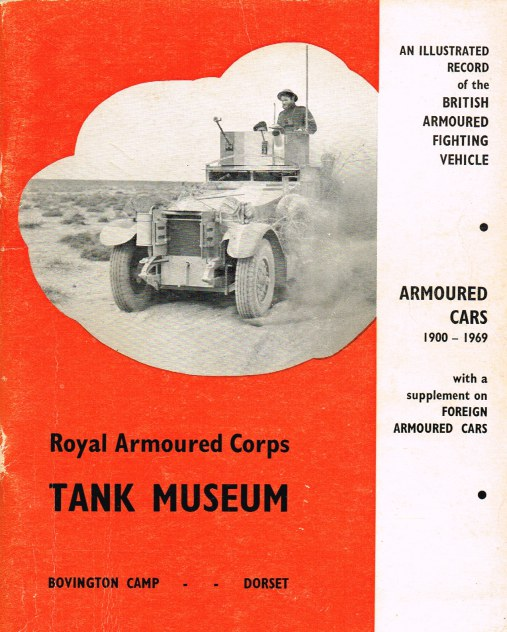 Image for ARMOURED CARS 1900-1969