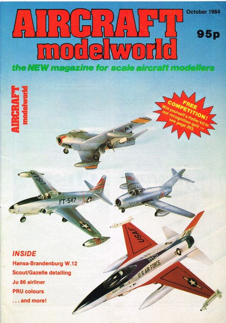 Image for AIRCRAFT MODELWORLD VOLUME 1 NO 8 : OCTOBER 1984