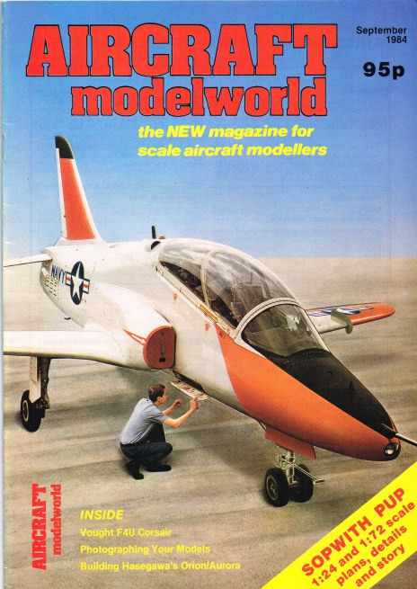 Image for AIRCRAFT MODELWORLD VOLUME 1 NO 7 : SEPTEMBER 1984