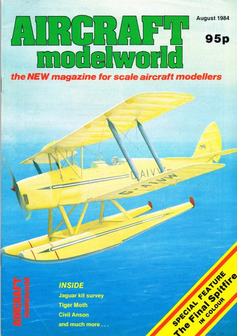 Image for AIRCRAFT MODELWORLD VOLUME 1 NO 6 : AUGUST 1984
