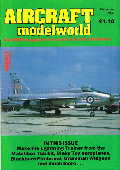 Image for AIRCRAFT MODELWORLD VOLUME 2 NO 10 : DECEMBER 1985