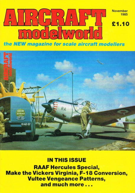 Image for AIRCRAFT MODELWORLD VOLUME 2 NO 9 : NOVEMBER 1985