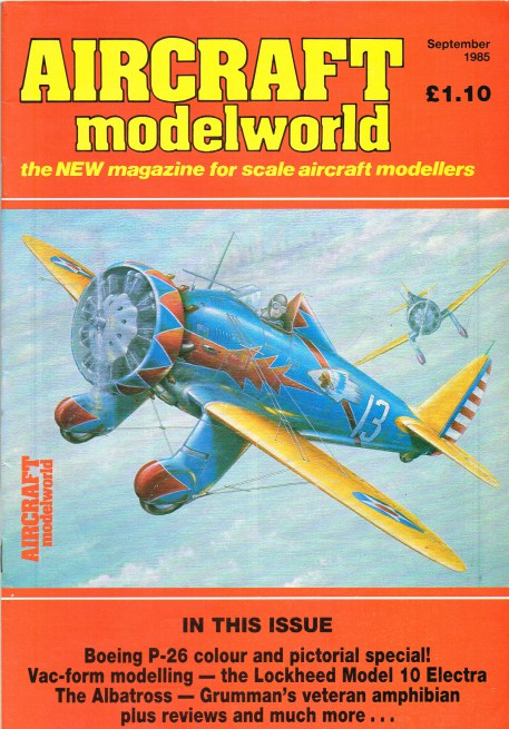 Image for AIRCRAFT MODELWORLD VOLUME 2 NO 7 : SEPTEMBER 1985