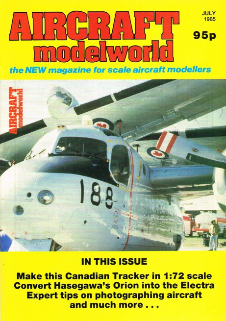 Image for AIRCRAFT MODELWORLD VOLUME 2 NO 5 : JULY 1985