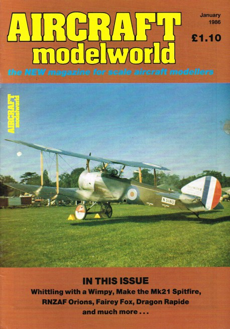 Image for AIRCRAFT MODELWORLD VOLUME 2 NO 11 : JANUARY 1986