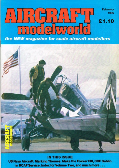 Image for AIRCRAFT MODELWORLD VOLUME 2 NO 12 : FEBRUARY 1986