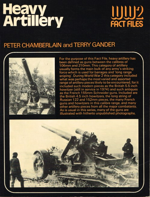 Image for WW2 FACT FILES: HEAVY ARTILLERY