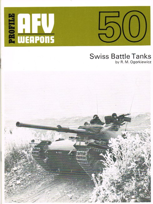 Image for PROFILE AFV 50: SWISS BATTLE TANKS
