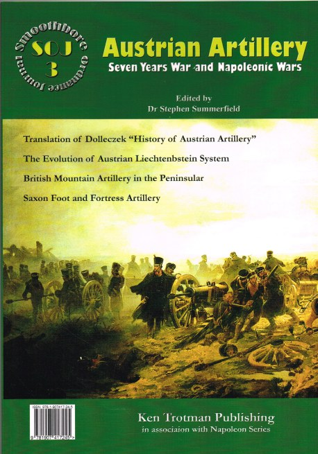 Image for SMOOTHBORE ORDNANCE JOURNAL ISSUE 3: AUSTRIAN ARTILLERY
