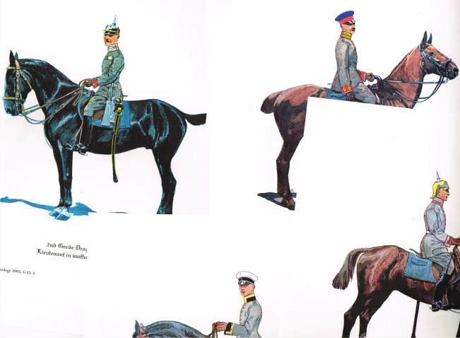 Image for UNIFORMOLOGY: IMPERIAL GERMAN CAVALRY FIELD GRAY UNIFORM CA. 1914 (20 PRINTS)