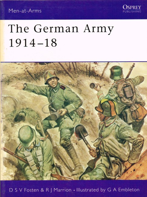 Image for THE GERMAN ARMY 1914-18