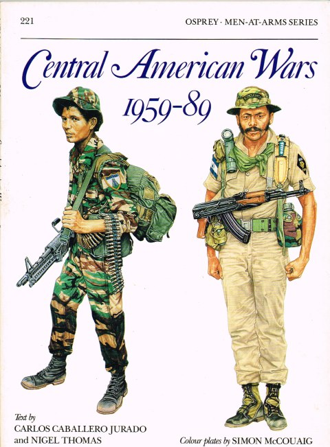 Image for CENTRAL AMERICAN WARS 1959-89