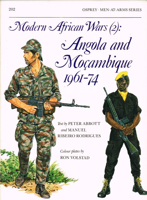 Image for MODERN AFRICAN WARS (2) : ANGOLA AND MOCAMBIQUE 1961-74