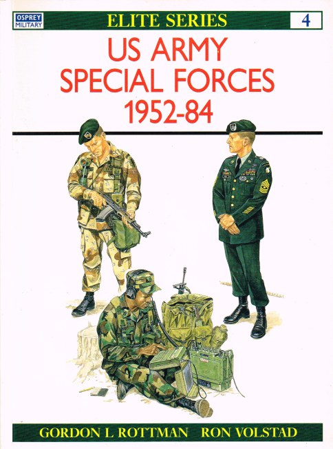 Image for US ARMY SPECIAL FORCES 1952-84