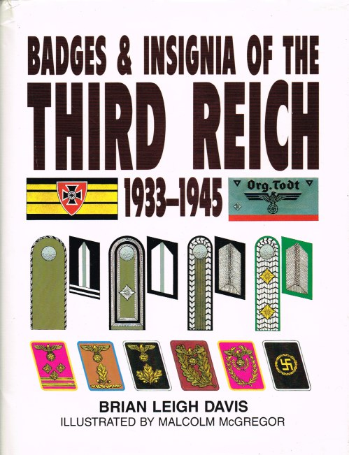 Image for BADGES AND INSIGNIA OF THE THIRD REICH 1933-1945