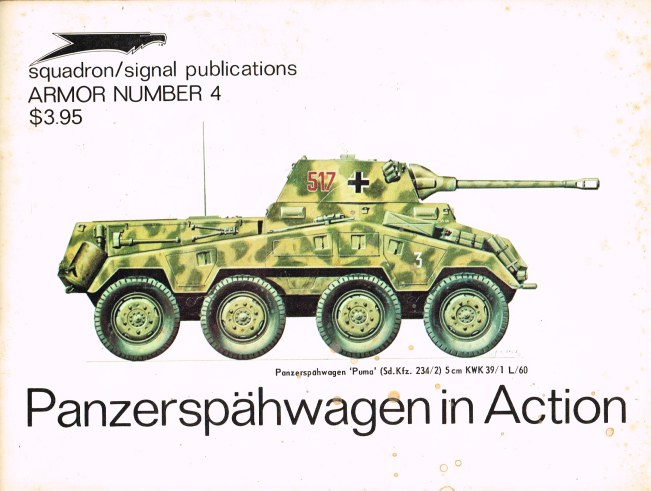 Image for PANZERSPAHWAGEN IN ACTION