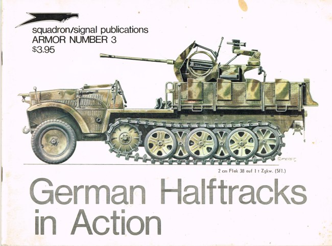 Image for GERMAN HALFTRACKS IN ACTION